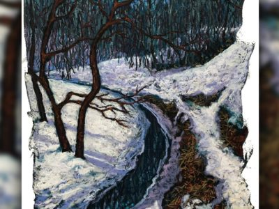 """""""Two Branches in Millcreek"""" Pastel (soft) Sold with or without framing"""