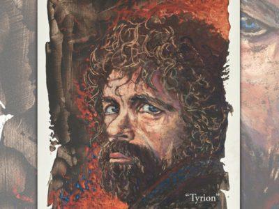"Tyrion / GOT Pastel (soft) 11"" x 15"""